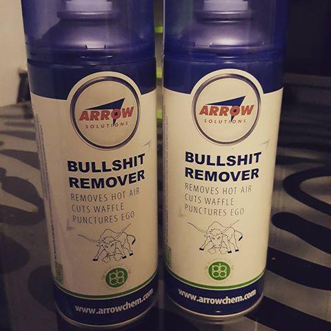 bullshit remover bottles