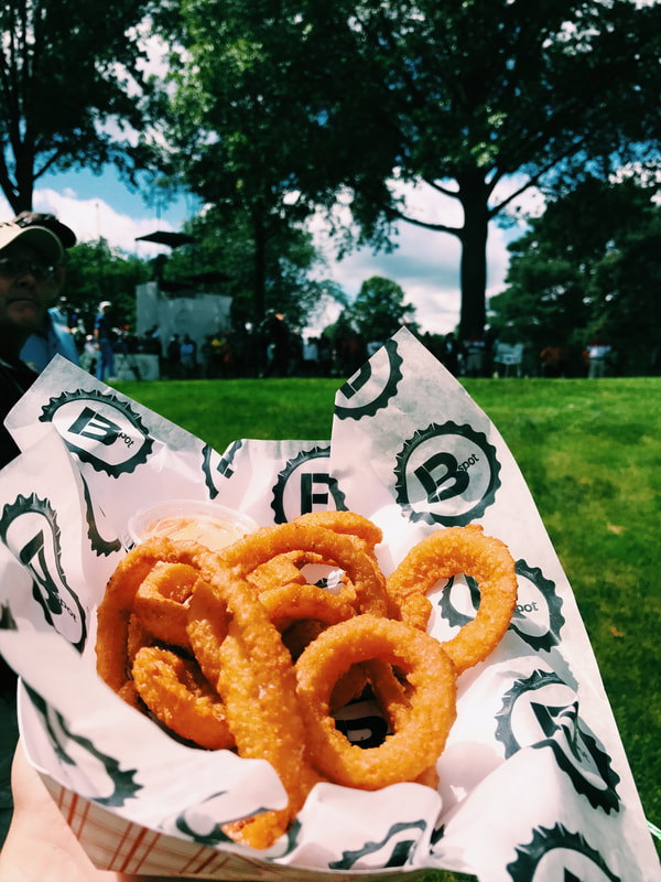 Onion rings at Akron PGA tour event