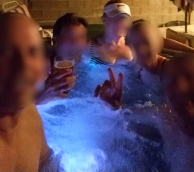 people stew in Hot Tub Time Machine