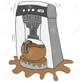 broken coffee maker