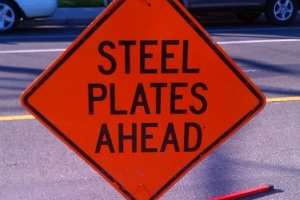 Steel Plates Ahead