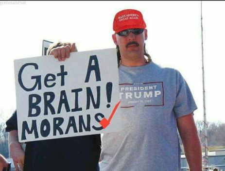 trump sign- morans