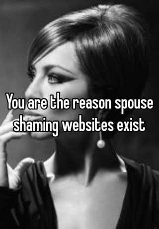 spouse-shaming