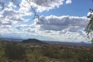 View from top of Las Sendas