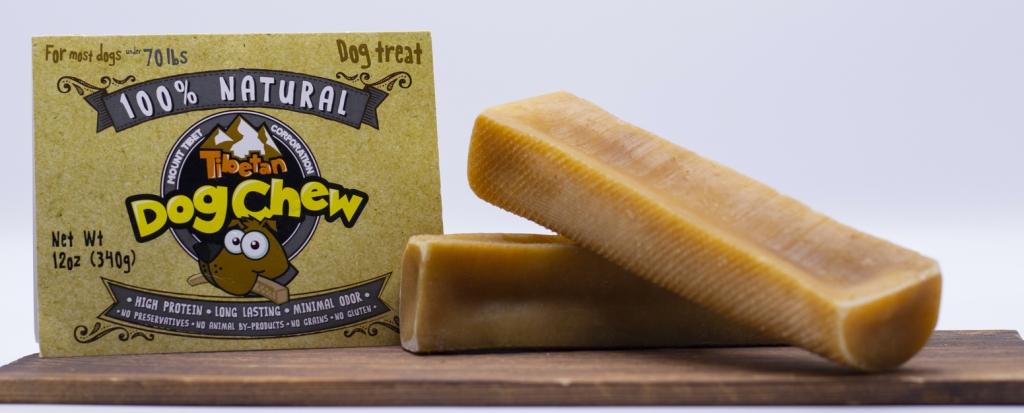 Tibetan Dog Chew package, stolen from the Yak cheese website.